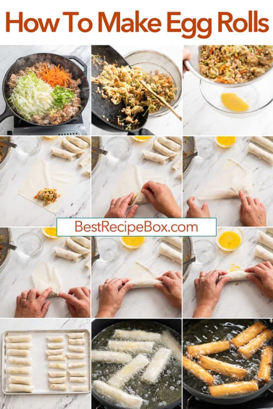 How to Make Egg Rolls Recipe step by step