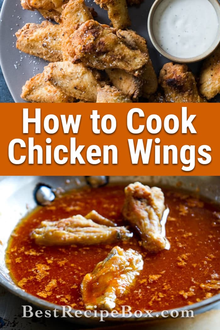 How to Cook Crispy Chicken Wings Recipe- @BestRecipeBox