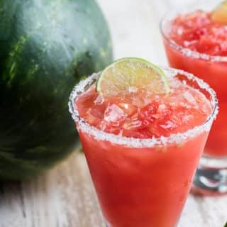 Inside-A-Watermelon Margaritas
