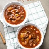 Instant Pot Beef Stew Recipe | @bestrecipebox