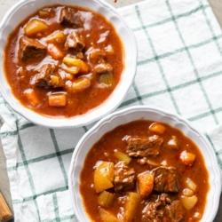 Instant Pot Beef Stew Recipe Slow Cooker Beef Stew   @bestrecipebox