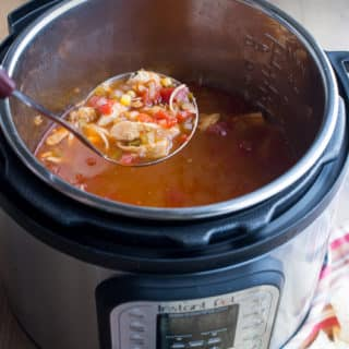 Slow Cooker /Instant Pot Chicken Tortilla Soup