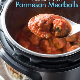 Instant Pot Meatballs Recipe with Parmesan Cheese
