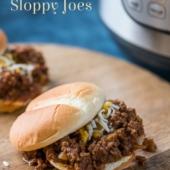 Instant Pot / Slow Cooker Sloppy Joes Recipe