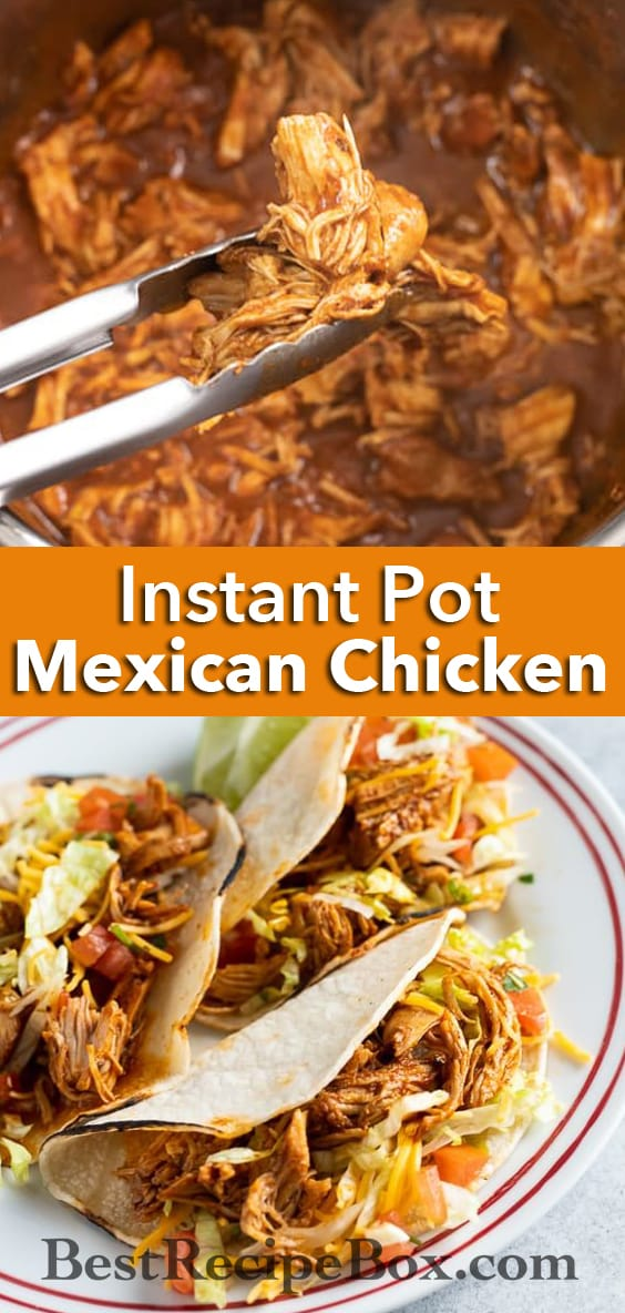 Chicken Tacos in Pressure Cooker | BestRecipeBox.com