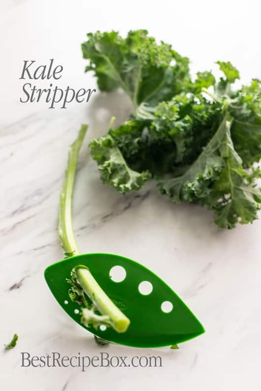 Kale Stripper Tool Leaf Herb Stripper tool @bestrecipebox