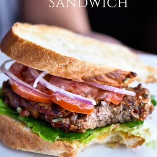 Leftover Meatloaf Sandwich from Juicy Meatloaf Recipe | @bestrecipebox