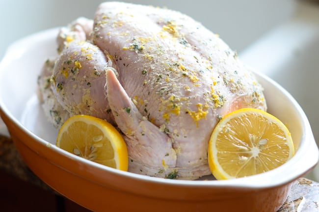 Lemon Herb Roast Chicken Recipe from ChickenRecipeBox.com