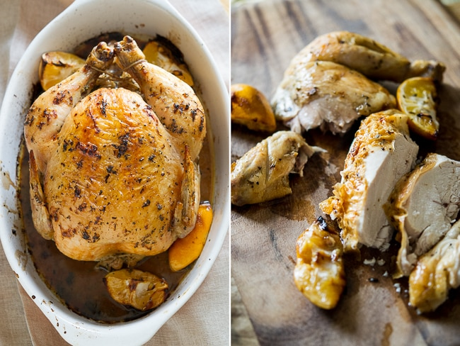 Lemon Herb Roast Chicken Recipe from ChickenRecipeBox.com