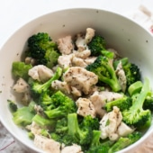Microwave Chicken and Broccoli Recipe | BestRecipeBox.com