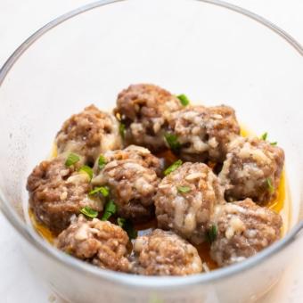 Microwave Italian Sausage Meatballs Recipe | BestRecipeBox.com