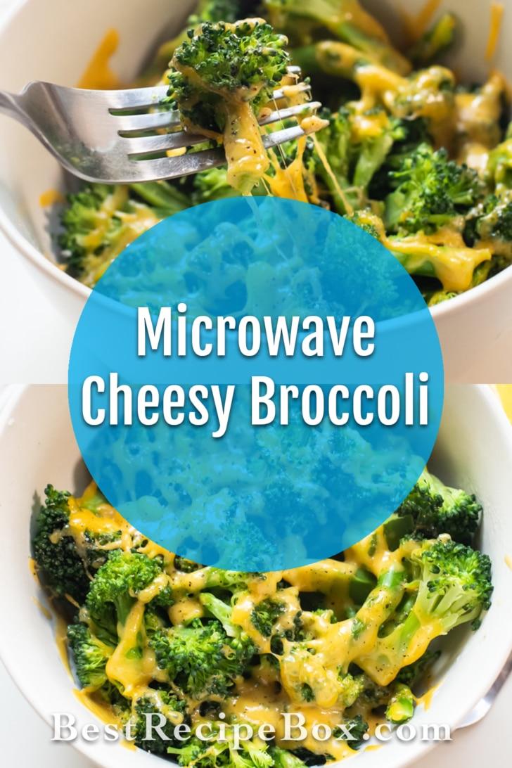 Microwave Broccoli with Cheese or Cheesy Broccoli   BestRecipeBox.com