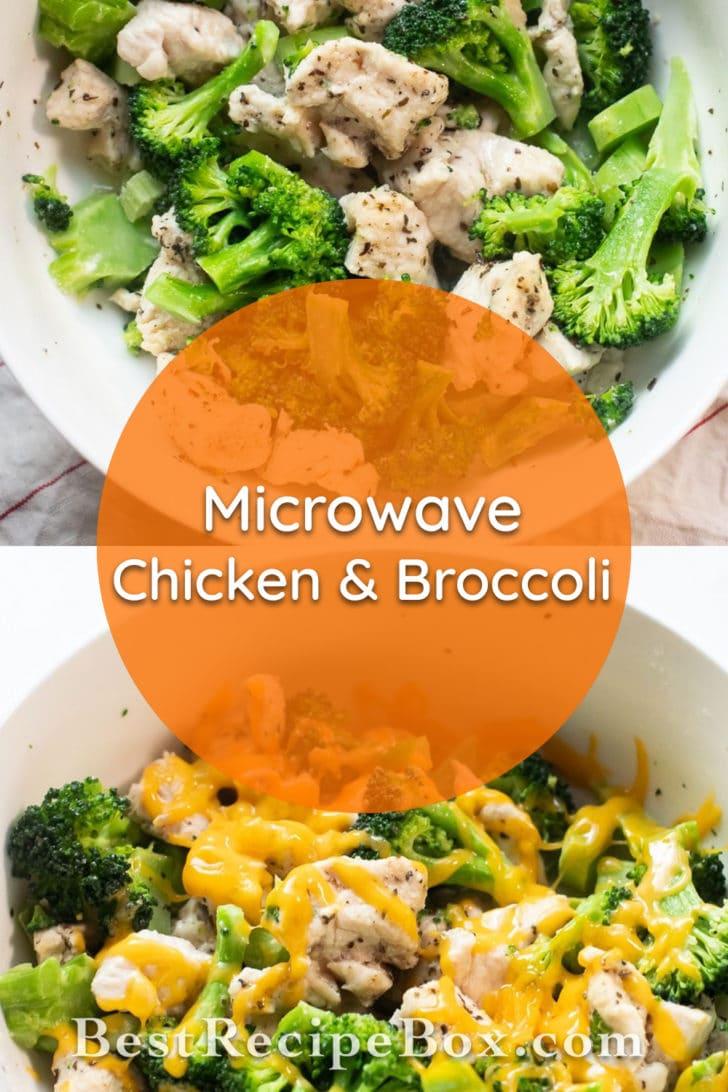 Microwave Chicken and Broccoli Recipe   BestRecipeBox.com