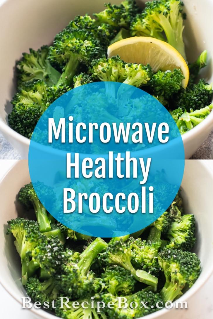 Microwave Broccoli Recipe Steamed in Microwave   BestRecipeBox.com
