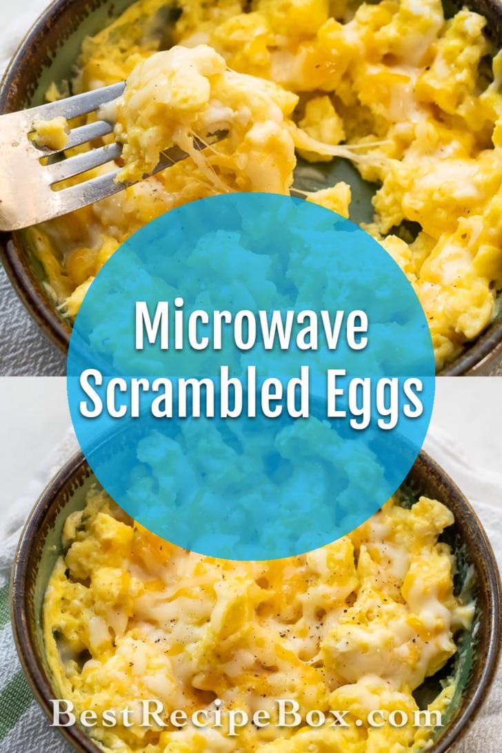 Microwave Scrambled Eggs Recipe   BestRecipeBox.com