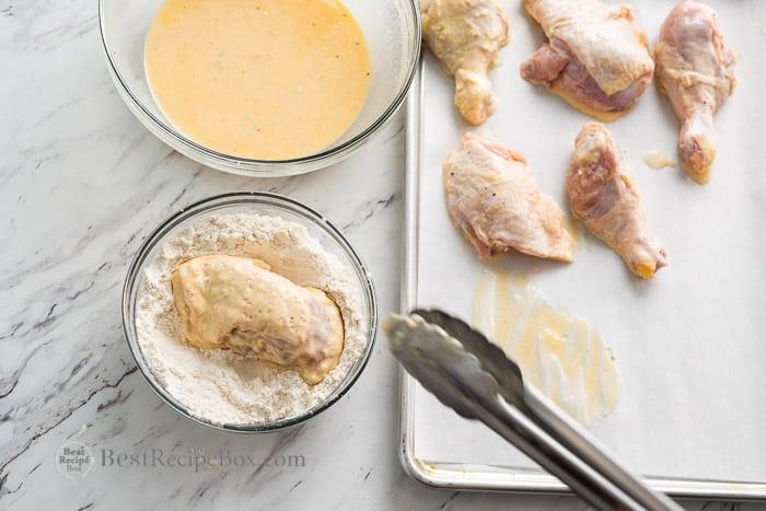 Spicy Hot Chicken Recipe Nashville Style @BestRecipeBox