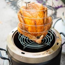 Oil Less Deep Fried Turkey Recipe in Air Fryer @BestRecipeBox