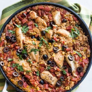 One Pot Taco Chicken and Rice – Arroz Con Pollo