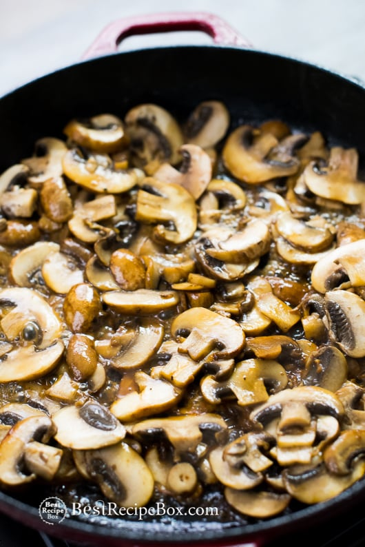 Mushroom Gravy Recipe | @bestrecipebox