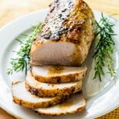 Easy Oven Roast Pork Tenderloin Recipe from @BestRecipeBox