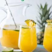 Best Pineapple Margaritas Recipe in Pitcher for Parties | BestRecipeBox.com