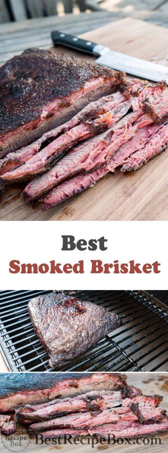 Smoked Brisket Recipe and Best Brisket Recipe @bestrecipebox