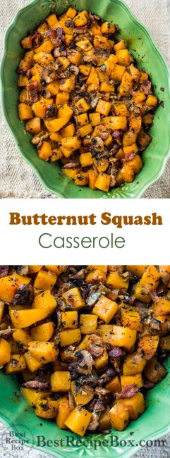 Butternut Squash Casserole Bake Recipe Best Butternut Squash Recipe | @bestrecipebox