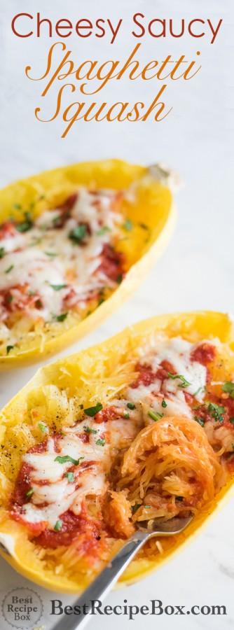 Easy Cheesy, Saucy Spaghetti Sauce Recipe is Dinner Served! @bestrecipebox