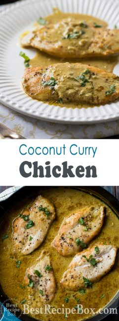 Curry Coconut Milk Chicken Recipe Thai Chicken Curry | @bestrecipebox