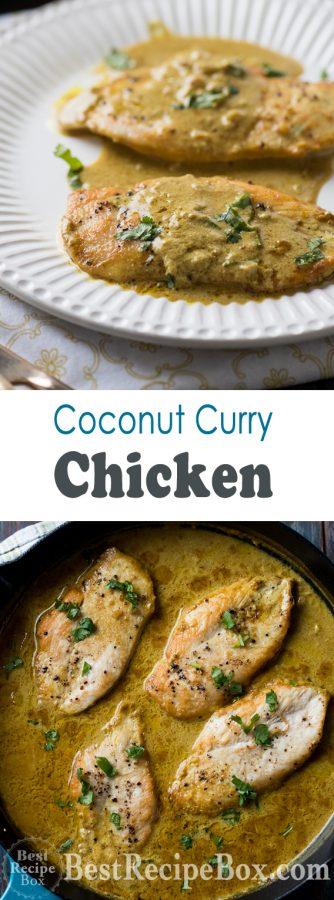 Curry Coconut Milk Chicken Recipe Thai Chicken Curry | @bestrecipebox