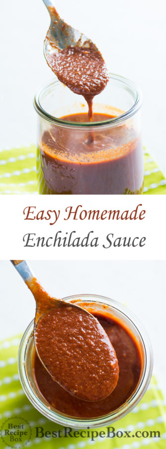 Easy Enchilada Sauce for great Mexican Recipes   @bestrecipebox
