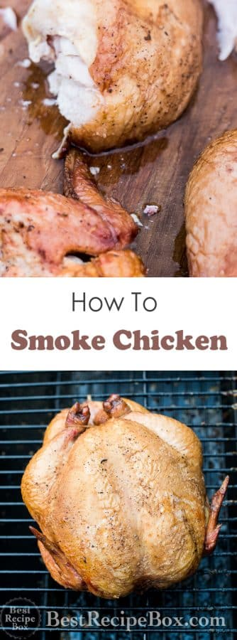 How To Smoke Chicken Recipe in Smoker BBQ Grill | @bestrecipebox