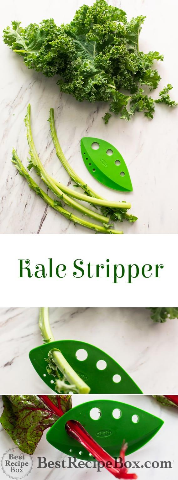 Kale Stripper Tool Leaf Herb Stripper tool @bestrecipebox