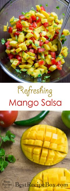 Mango Salsa Recipe| @bestrecipebox