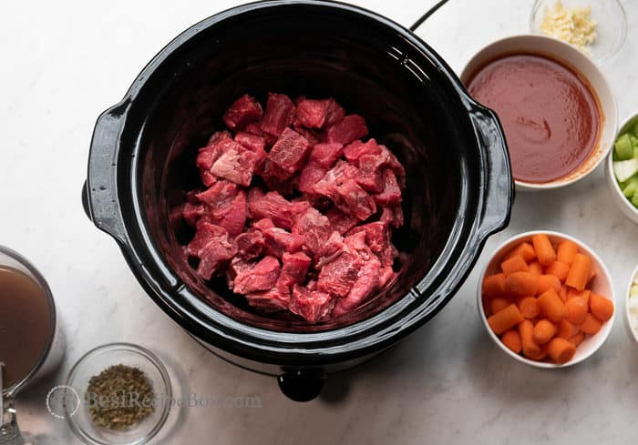 Recipe Slow Cooker Beef Stew | BestRecipeBox.com