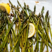 Simple Roasted Garlic Asparagus