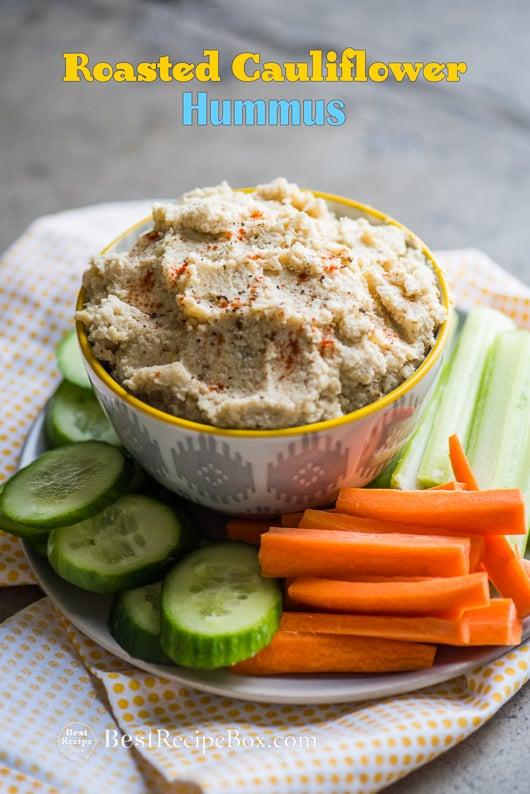 best low fat hummus | @bestrecipebox