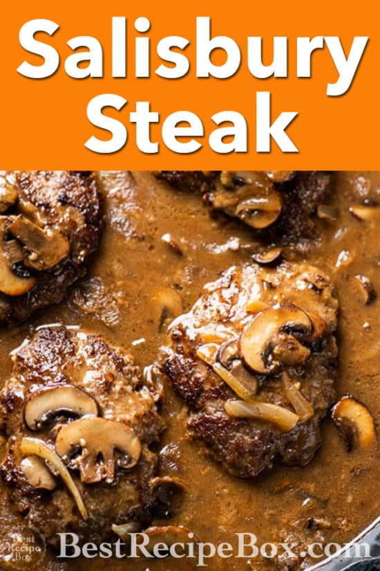 skillet beef patties recipe @BestRecipeBox