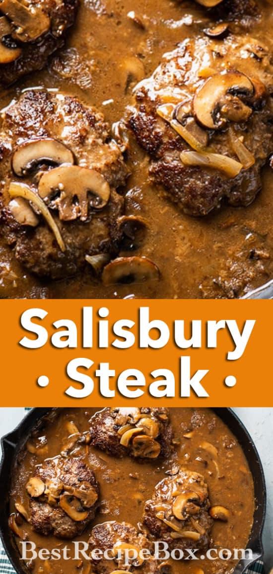 skillet steak recipe @BestRecipeBox