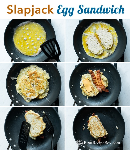 Skillet Egg Sandwich Recipe With Bacon Slap Jack Best