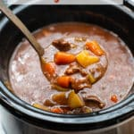 Slow Cooker Beef Stew Recipe in Crock Pot | BestRecipeBox.com
