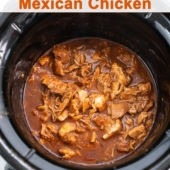 Flavorful Slow Cooker Mexican Chicken