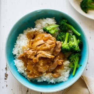 Slow Cooker Terikayi Chicken is super easy Asian Teriyaki Recipe | @bestrecipebox