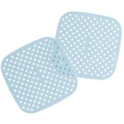 "8.5"" Square Blue Silicone Mat"