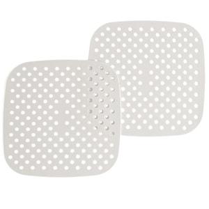 "8.5"" Square Cool Gray Silicone Mat"