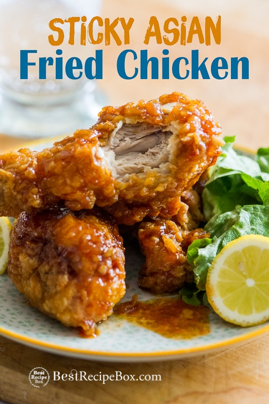 Asian fried chicken recipe with chili garlic sauce amazing asian fried chicken recipe with garlic chili sauce bestrecipebox forumfinder Image collections