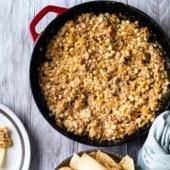 Stove Top Cheesy Corn Dip Recipe for Easy Dip Recipe with Cheesy | @bestrecipebox