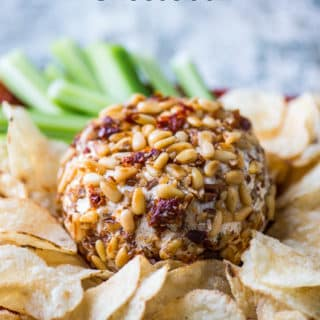 Sun Dried Tomato Cheese Ball