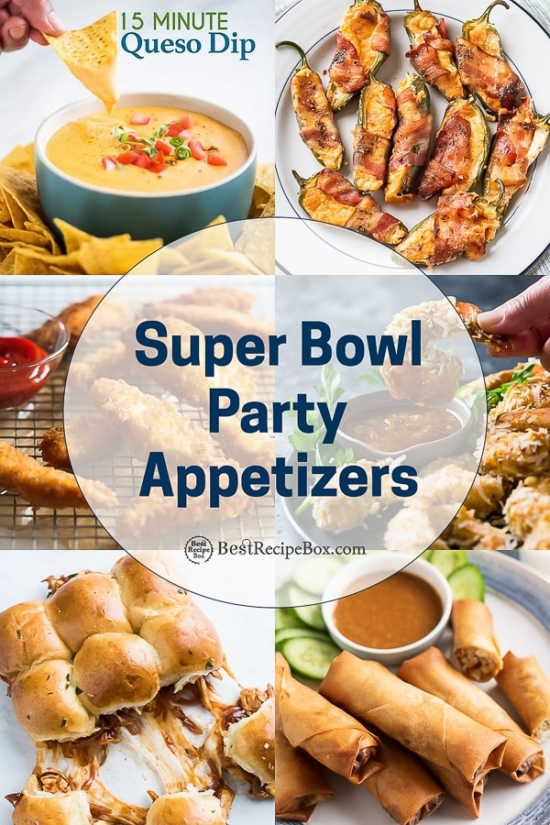 Super Bowl Appetizer Recipes step by step