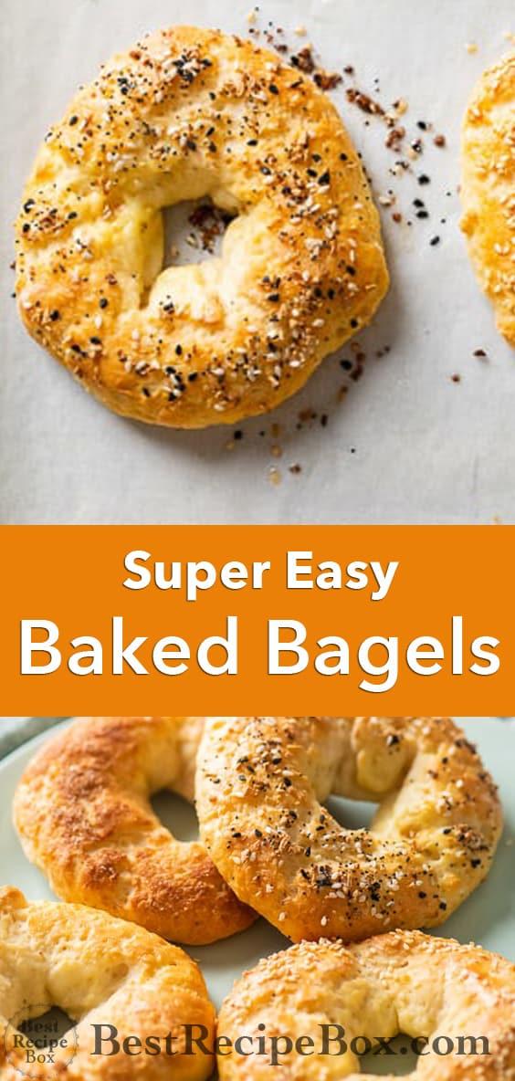 Healthy Bagel Recipe in Oven @bestrecipebox